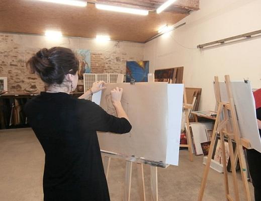En atelier